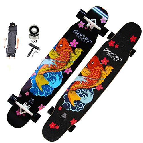 WYYHYPY Skateboard 116,8 cm Longboard...