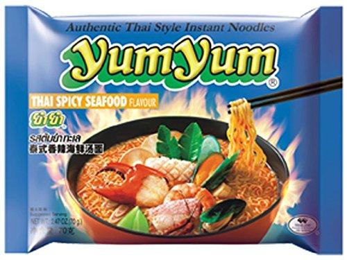 Instant Nudeln mit THAI SPICY SEAFOOD Geschmack, 30er Pack (30 x 70 g)