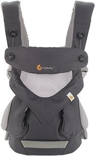 (跨境自营)(包税) Ergobaby 四式360婴儿背带-360透气款 BC360PBLKGRY