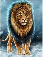 A62大人用ジグソーパズル1000個 ギフトホーム10代の子供向けの興味深い減圧脳チャレンジパズル-50cmx75cm(動物のライオン