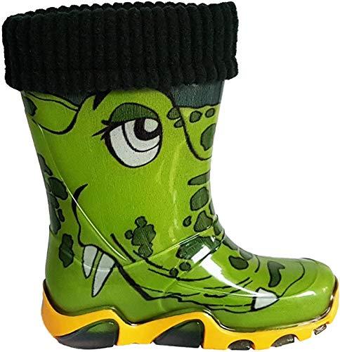 Stivali da pioggia per bambini con fodera rimovibile Coccodrillo 24/25