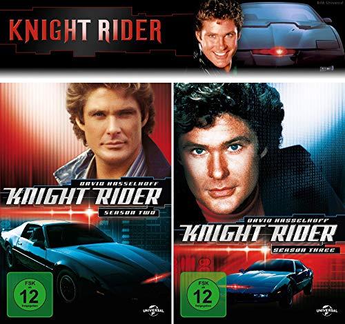 Knight Rider - Die komplette 2 + 3. Staffel (12-Disc / 2-Boxen)