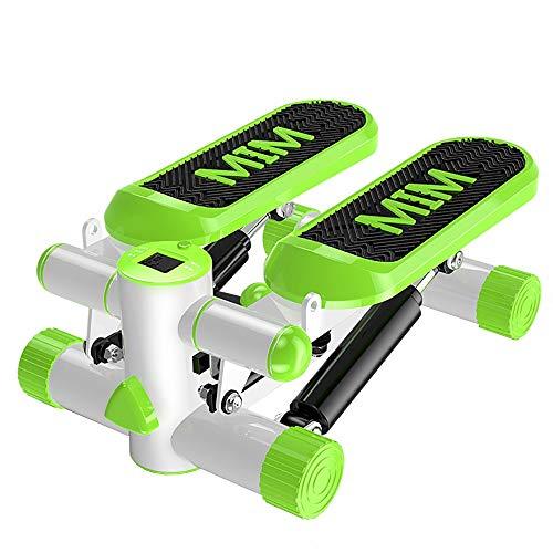 DODOBD Mini Stepper Fitness Stepper 2 en 1 Escaladora y Swing Stepper para usuarios Principiantes y avanzados con Pantalla Multifuncional Escaleras de Ejercicio Step