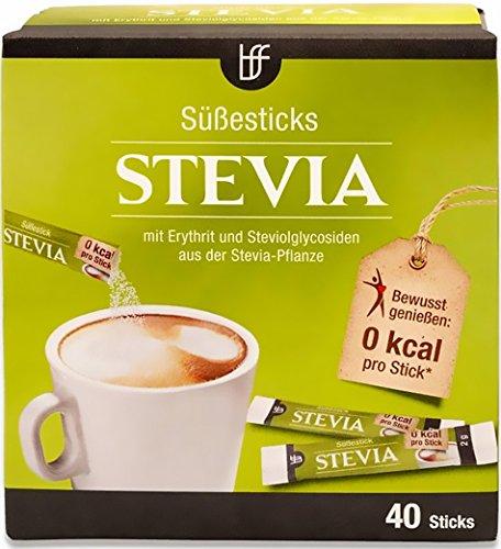 BFF Stevia Süße Sticks 40x2g