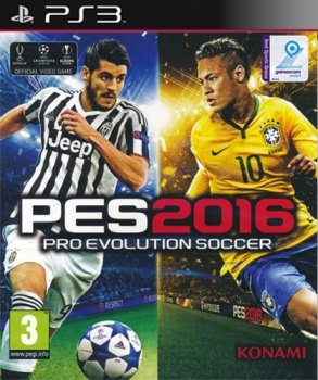 PES 2016 PS3 D1 AT Pro Evolution Soccer