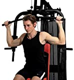 Christopeit Fitness-Station SP 10 de Luxe, Schwarz Rot - 4