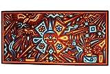 Micuari Cuadro de estambre 120x60cm Arte Wixárika (Huichol) / Yarn painitng 120x60cm Wixárika (Huichol) Art