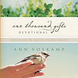 One thousand gifts devotional book cover