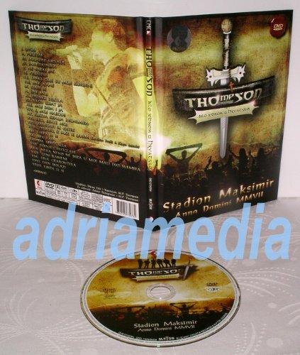 THOMPSON - MARKO PERKOVIC - Bilo jednom u Hrvatskoj 20.07.2007, Anno Domini MMVII (DVD)