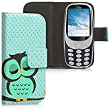 kwmobile Wallet Case Compatible with Nokia 3310 (2017) - PU