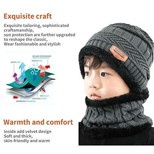 EDOTON Set de bufanda, gorro y guantes