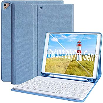 Kbcase iPad 8th Generation Case with Keyboard