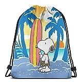 Bolso clásico con cordón para el verano de la mochila del gimnasio de la mochila del hombro del deporte del bolso de almacenamiento para las