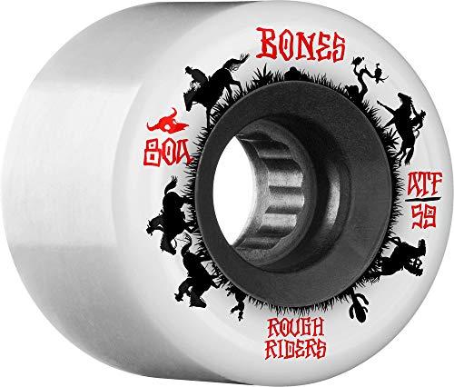 Bones Wheels Skateboard Wheels ATF Rough Riders Wrangler 80A 59mm Wheels