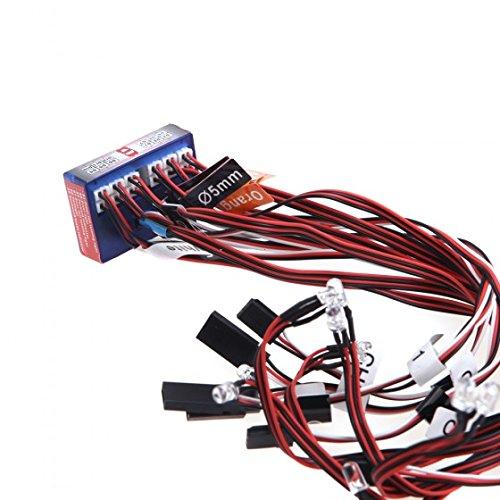 IMONIC New Highlight 12 LED 3CH Flashing Light System for RC Car G.T.POWER Smart PPM/FM/FS 2.4G Part
