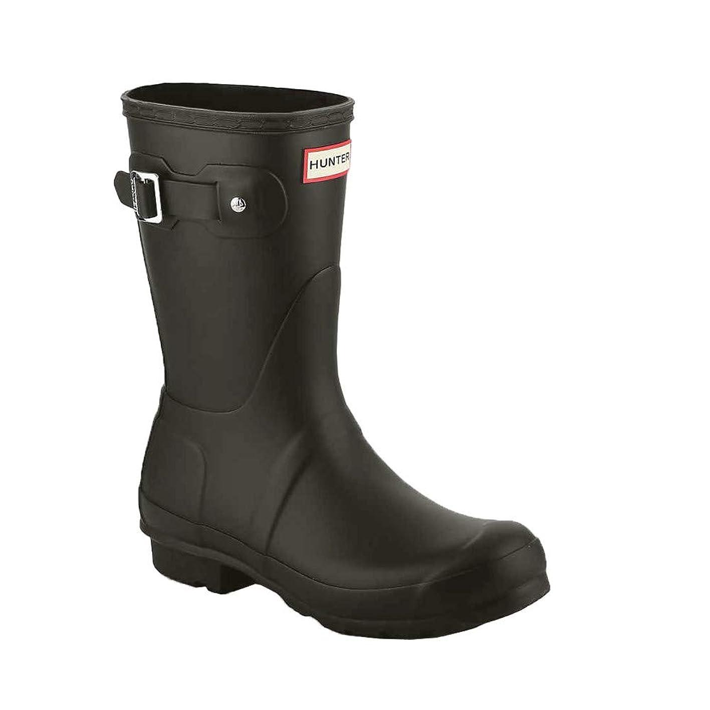 折る降伏偽造[ハンター] レインブーツ 長靴 ブーツ レディース WOMENS ORIGINAL SHORT BOOT WFS1000RMA (hnt001) [並行輸入品]