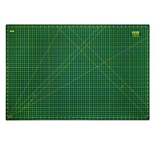 VViViD Alfombrilla de corte giratoria de 86,3 x 55,8 cm, reversible, de grado profesional para arte, manualidades, acolchado, costura,...