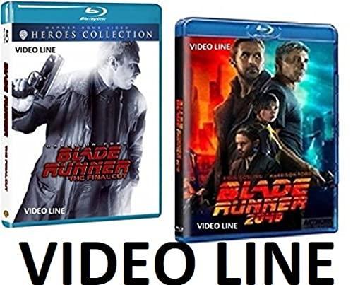Blade Runner 1-2 Original Final Cut + 2049 - (2 Film 3 Blu Ray Disc) Edizione Italiana ⚠️ VENDUTO DA VIDEO LINE ⚠️