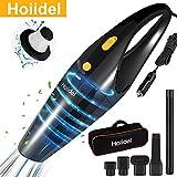 Car Vacuum Cleaner, Hoiidel 120w Powerful Suction Handheld Portable Auto Vacuum Cleaner, Wet