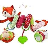 Kleidungsdekoration Babyschale Spielzeug Baby Activity-Spirale Kette Kinderwagen Spielzeug Mädchen...