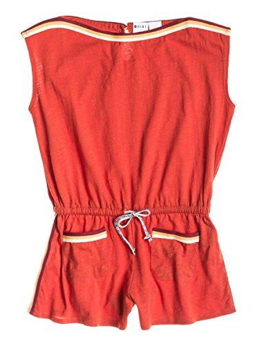 Roxy Marine Combi-Short à Manches Courtes Fille, Lava, FR : L (Taille Fabricant : 12/L)