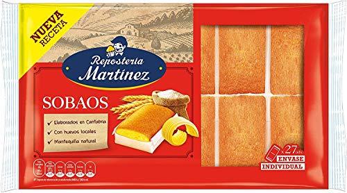 Martínez - Sobaos Con Mantequilla Natural (30 unidades) 600 g