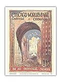 Pacifica Island Art Poster 1933 Chicago World Fair