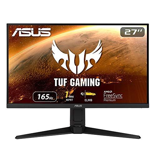 ASUS ゲーミングモニター TUF Gaming VG279QL1A 27インチ/フルHD/IPS/165Hz/1ms/G-Sync compatible/HDMI×2,...