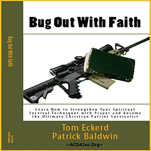 Bug Out with Faith audiobook cover art
