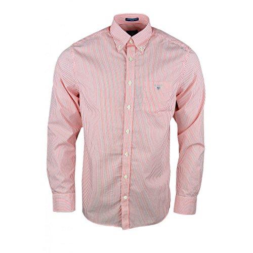 Gant Herren Blouson Freizeit-Hemd Gr. M, rot