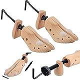Generic - 2 extensores de zapatos para mujer, 3 vías para estirar zapatos de mujer – se expande longitud, ancho y altura de calzado ajustado
