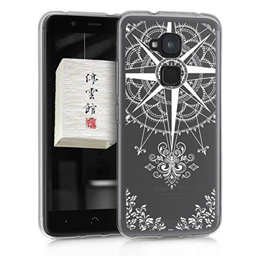 mächtig der welt Kwmobile case for bq Aquaris V Plus – mobile phone case – white baroque compass mobile case …