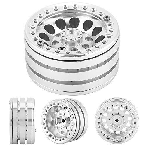 Drfeify RC hjullnav, 1/10 RC legering hjul fälg nav fjärrkontroll Crawler hjulnav kompatibel med TRX4 D90 SCX10 90046