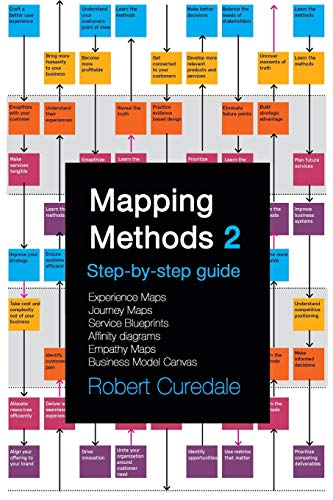 Mapping Methods 2: Step-by-step guide Experience Maps Journey Maps Service Blueprints Affinity Diagrams Empathy Maps Business Model Canvas