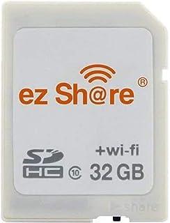 ez Share 8GB 16GB 32GB Card Adater WiFi SD Speicherkarte WiFi SDHC Class10 SD Karte Wireless Kamera Speicherkarte für Kamera (32GB)