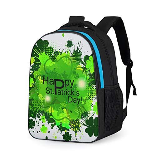 RNGIAN St Patrick's Day Multifunktional Arbeit Rucksack Backpack Rucksäcke Damen Reisen Daypacks Anzug für Teenager Grey OneSize