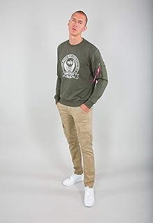 ALPHA INDUSTRIES Men's Anniversary Sweater Sweatshirt