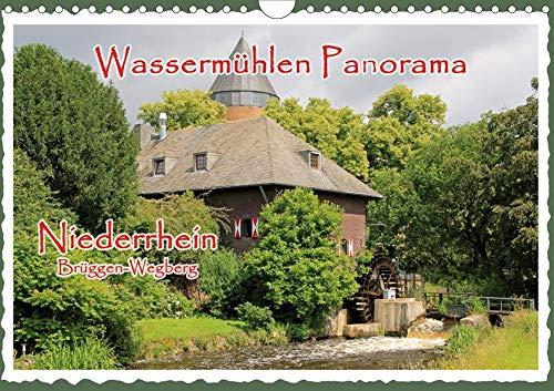 Wassermühlen Panorama Niederrhein Brüggen-Wegberg (Wandkalender 2020 DIN A4 quer): Wassermühlen sind historische Denkmäler, deren Erhaltung ein Stück ... (Monatskalender, 14 Seiten ) (CALVENDO Orte)