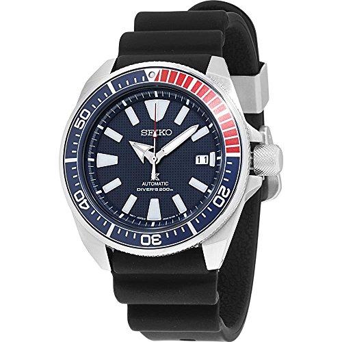 Seiko Men's Prospex Automatic Diver Silicone Strap Watch