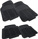 Tenzo-R 16064 Auto Gummi Fußmatten NBR Set universal schwarz - 4-teilig