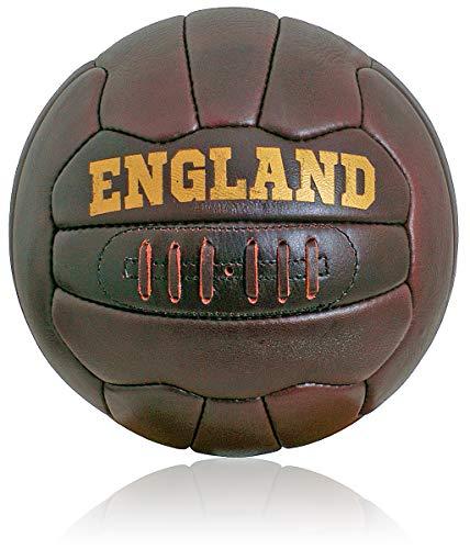 British Sports Museum Nuevo Cuero Antiguo Inglaterra Fútbol