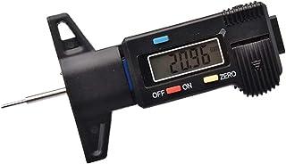 D DOLITY Venier Compasso de pneu digital para calibrador de profundidade, medidor de freio