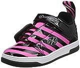 Heelys Rift (he100628), Zapatillas para Niñas, Negro (Black/Hot Pink/Stripe Black/Hot Pink/Stripe), 34 EU