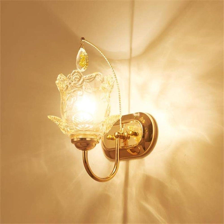 3D Nachtlicht Crystal Wandleuchte Einfache Nachttischlampe Kreative Schlafzimmer Wohnzimmer Hintergrund Wandleuchte Treppe Gang Lampe @ B032-1 Senden Led-Lichtquelle