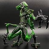 Lianlili Juegos - Aliens Vs Predator - 7' Alien Mantis Escala Guerrero Figura Coleccionable de Acción for Aficionados Extranjeros