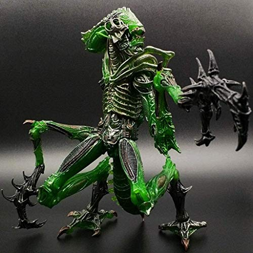 """Lianlili Juegos - Aliens Vs Predator - 7"""" Alien Mantis Escala Guerrero Figura Coleccionable de Acción for Aficionados Extranjeros"""