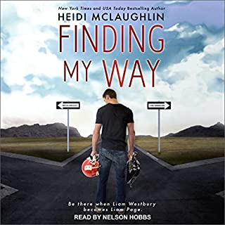 Finding My Way audiobook cover art
