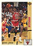 1991-92 Upper Deck Michael Jordan Basketball Card #44 - Shipped In Protective Display Case!