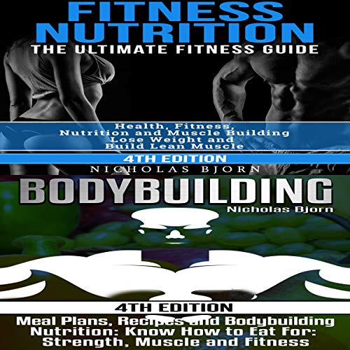 Fitness Nutrition & Bodybuilding audiobook cover art