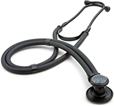 ADC Adscope 646 Sprague Stethoscope with 5 Interchangeable Chestpiece Options, Tactical All Black